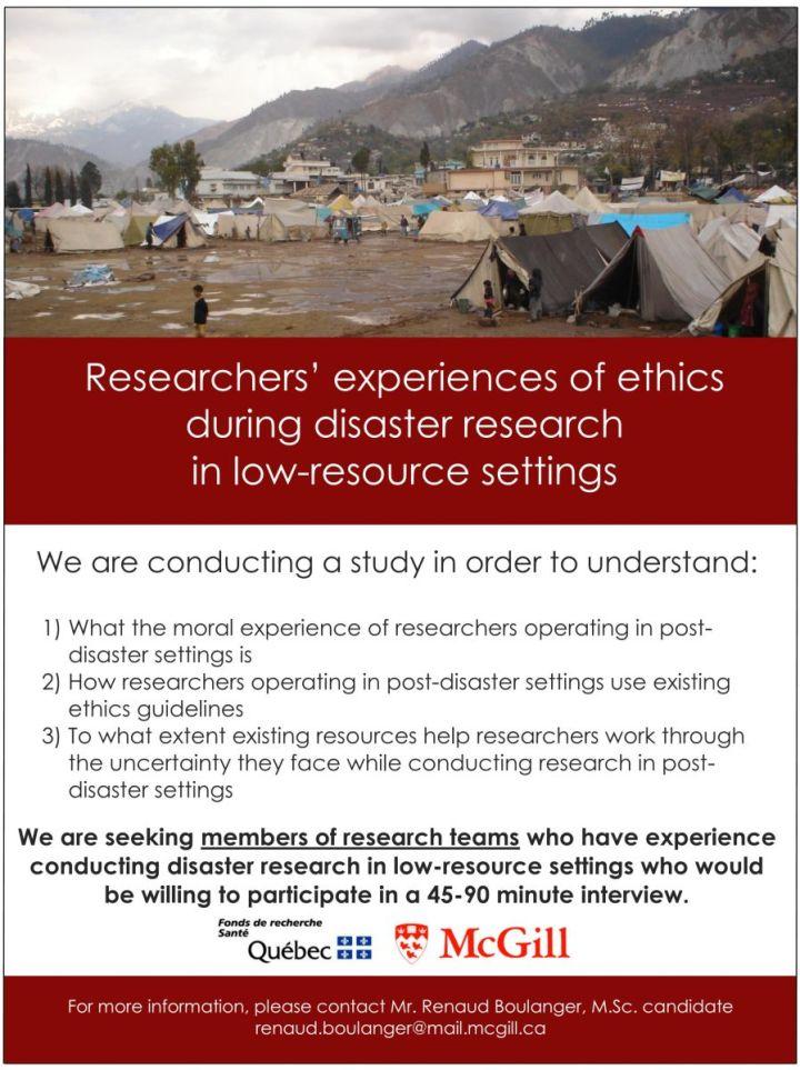 ResearchersExperience_RecruitmentPoster