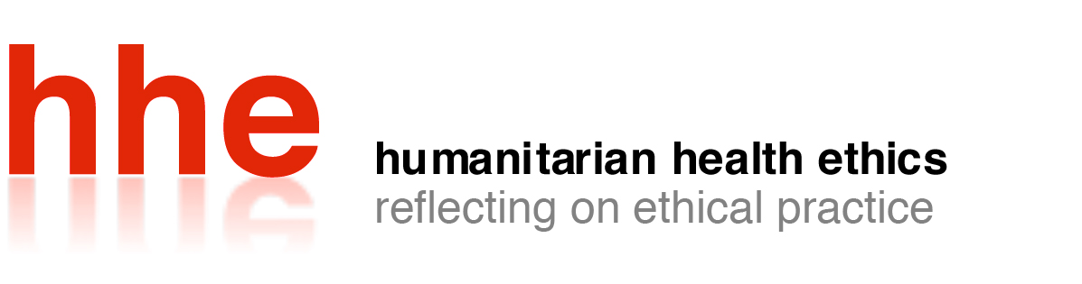 Humanitarian Health Ethics