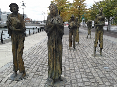 Famine monument